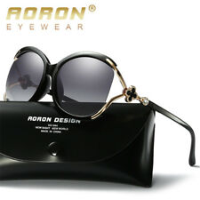 New Luxury Women's Aviator Mirrored Polarized Sunglasses Outdoor Driving Glasses