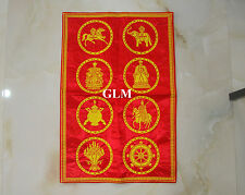Feng Shui = 8 Auspicious Royal Emblem Wall Decor