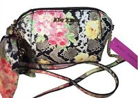 BETSEY JOHNSON XO ANAYA Women's Crossbody With Scarf And Chain Strap Floral
