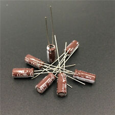 50pcs 2.2uF 100V 5x11mm NICHICON PJ Low Impedance Long Life Capacitor