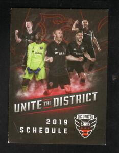 DC United--2019 Pocket Schedule--Leidos--MLS