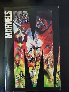 MARVELS By Ross & Kurt Busiek /wth dust jacket Hardcover *1st Printing 1994 Rare
