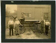 Photograph – Brewery Wagon – Ca. 1900