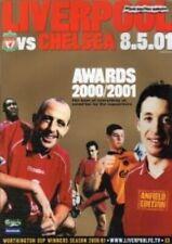 Liverpool Vs Chelsea 00/01 Season - Football Programme