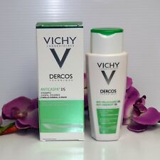 GREEN OILY !! VICHY DERCOS ANTI-DANDRUFF SHAMPOO FOR NORMAL TO OILY HAIR 200ml