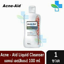 Acne-Aid Liquid Cleanser Soap-free formula for pimples and oily skin 100 ml.