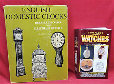 2 Book Lot-Complete Price Guide to Watches/English Domestic Clocks