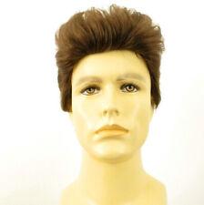 Short Wig For Men Natural Hair dark Blond Ref Albert 8