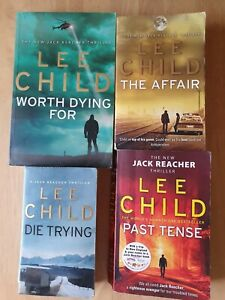 Lee Child Jack Reacher Paperbacks x 4 books
