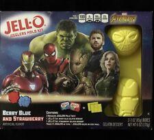 Marvel Avengers Infinity War JELLO Jigglers Mold Kit Spider-Man Iron Man Hulk