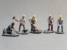 LIONEL IRON WORKERS PEOPLE PACK O GAUGE FIGURES steel mill men usw 6-83168 NEW