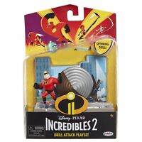 Disney The Incredibles 2 Drill Attack Playset Figure Action