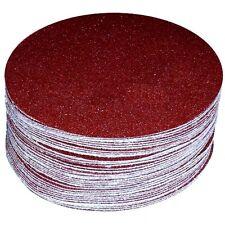 "48 Piece -24Each Grit 120 & 220 # 6"" inch Peel & Stick sandpaper Sand Sheet Disc"