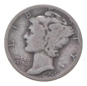 Better 1931-D - US Mercury 90% Silver Dime Coin Collection Lot Set Break *195