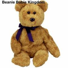TY Beanie Babies Fuzz The Bear With Tag 1999