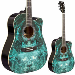 B-STOCK Lindo FRACTAL Acoustic Guitar + gig bag / Minor Cosmetic Issue