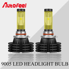Pair 9005 HB3 LED Car Headlight Kits High Beam 1500W 225000LM  Lamp Bulbs 6500K