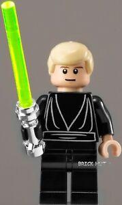 LEGO STAR WARS - LUKE SKYWALKER JEDI FIGURE + CHROME HILT - 10212 - 2010 - NEW