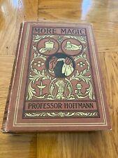 Professor Hoffman More Magic 1892