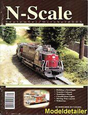 N-Scale Sept.2005 Streetlight EMD SD28 Locomotive UP Section House Wilburton