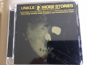 UNKLE – MORE STORIES  - 2CD bonus CD war stories & instrumentals AS NEW