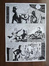 "PLANCHE ORIGINALE MON JOURNAL ""JANUS STARK"" N°73 1983 page 11"