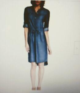 Women's GLORIA VANDERBILT ASHLEIGH DENIM DRESS/ Medium