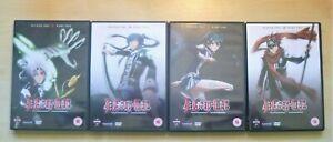 D GRAY-MAN THE COMPLETE SEASONS 1 & 2 (8 DVDs) Manga- Funimation PAL Reg. 2 VGC!