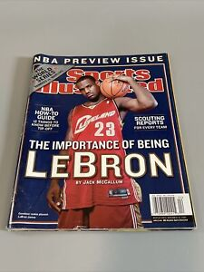 LEBRON JAMES SPORTS ILLUSTRATED/THE IMPORTANCE OF BEING LEBRON/OCT 27 2003