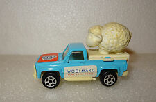 VOITURE MINIATURE MINI JET NOREV PUB WOOLMARK PICK UP MADE IN FRANCE