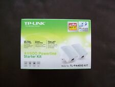 TP-Link AV600 Powerline Starter Kit TL-PA4010KIT....brand new & sealed
