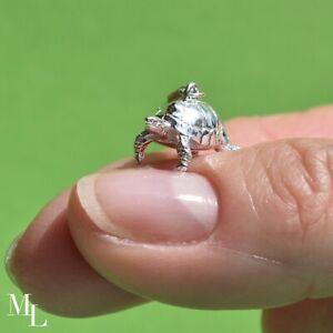 Sterling Silver Tortoise Jewellery Charm by MYLEE London - ML028