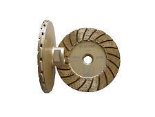 "4"" Disco turbo diamond cup wheel/wheels(coarse) -- excellent balance, aggressive"