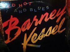 BARNEY KESSEL -  Red Hot and Blue ~ CONTEMPORARY 14044 {nm} *1988* w/Hutcherson