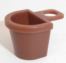 Lego Neck Basket x 1 Reddish Brown for Minifigure