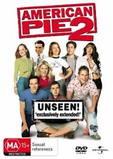 AMERICAN PIE 2 DVD=UNSEEN EXCLUSIVE EXTENDED EDITION=REGION 4= NEW AND SEALED