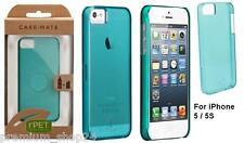 Umweltschonendes Deluxe Case Mate Bio Back Cover ClipOn für iPhone SE rPET blau