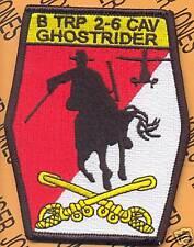 B Troop 2-6 Cav GHOSTRIDER Attack Aviation patch