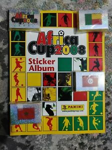 Panini African Cup of nations 2008 Ghana Stickers Full Set