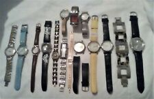 LOT OF 15 MENS AND WOMENS USED WATCHES - VARIOUS BRANDS