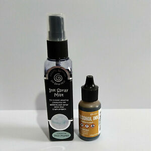 Cosmic Shimmer Ink Spray Mist and Tim Holtz Alcohol Ink - Please Read