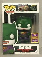 Funko Pop Heroes 2017 SDCC Exclusive Suicide Squad Batman #188 (Joker)