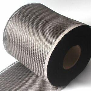Carbon Fabric Fiber Black Plain Weave High Strength Light for Multi-purpose Use