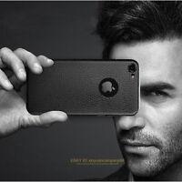Pour Apple iPhone 6 6s 7 Plus Luxe Ultra-mince Cuir Souple TPU Housse Etui Coque