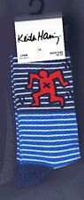 New Keith Haring 3 Pack Men's Cotton Mix Socks - UK Size 10-13