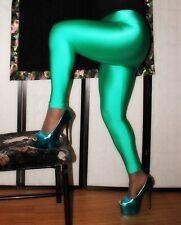 New listing American Apparel, Sexy, Shiny Green Spandex Pants, Retro Disco Leggings, M