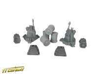 TTCombat - Si-Fi Gothic - SFGRA003 - Gothic Accessories great for 40K
