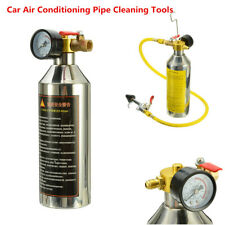 1 Set Car Air Conditioning Pipe Cleaning Tool A/C Flush Canister Kits R134a R12