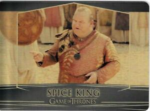 Game of Thrones : Valarian Steel  gold parallel base #100 (097/100) Spice King