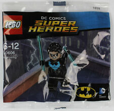 LEGO DC Comics Super Heroes 30606 Nightwing minifigure - NEW in polybag sealed